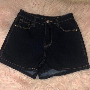 Papaya Stretchy Shorts